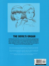 Verso de Yoko Tsuno (en anglais, chez Cinebook) -8- The devil's organ