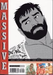 Verso de Massive - Massive, Gay Erotic Manga and the Men who make it