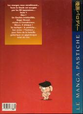 Verso de Pastiches -HS- Le Manga pastiche