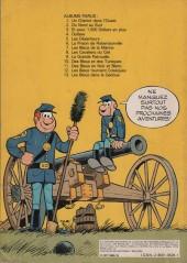 Verso de Les tuniques Bleues -11a1977- Des bleus en noir et blanc