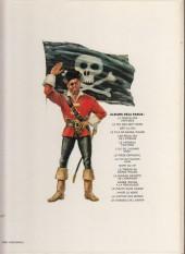 Verso de Barbe-Rouge -14a79- Le pirate sans visage