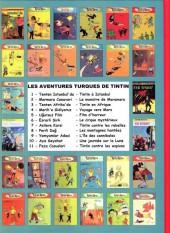 Verso de Tintin - Pastiches, parodies & pirates -'- Tintin à Istanbul