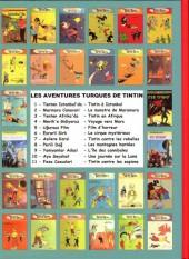 Verso de Tintin - Pastiches, parodies & pirates -'- Tintin en Afrique