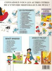 Verso de Les schtroumpfs -16b2001- Le Schtroumpf financier