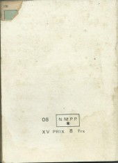 Verso de Blek (Les albums du Grand) -Rec35- Album N°35 (du n°342 au n°345)