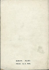 Verso de Blek (Les albums du Grand) -Rec09- Album N°9 (du n°204 au n°209)