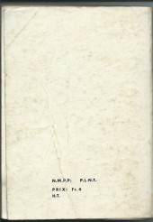 Verso de Blek (Les albums du Grand) -Rec16- Album N°16 (du n°246 au n°251)