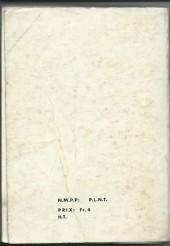 Verso de Blek (Les albums du Grand) -Rec20- Album N°20 (du n°270 au n°275)