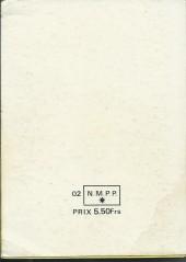 Verso de Blek (Les albums du Grand) -Rec25- Album N°25 (du n°302 au n°305)