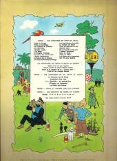 Verso de Tintin (Historique) -4B40- Les cigares du pharaon
