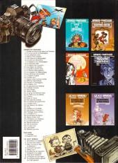 Verso de Spirou et Fantasio -3h02- Les chapeaux noirs