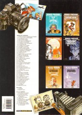 Verso de Spirou et Fantasio -10g03- Les pirates du silence
