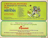 Verso de Sylvain et Sylvette (06-série : collection Fleurette 2e série) -8- Le chemin perdu