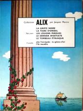 Verso de Alix -7a1969- Le Dernier Spartiate