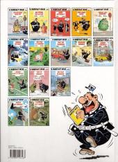 Verso de L'agent 212 -10a1993- Agent trouble
