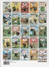Verso de L'agent 212 -22a2006- Brigade des eaux