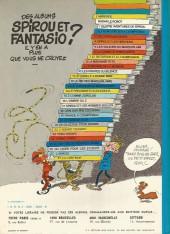Verso de Spirou et Fantasio -18c77- QRN sur Bretzelburg