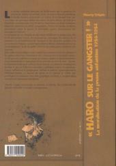 Verso de (DOC) Études et essais divers - « Haro sur le gangster ! » La moralisation de la presse enfantine 1934-1954