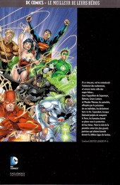 Verso de DC Comics - Le Meilleur des Super-Héros -4- Justice League - Aux origines