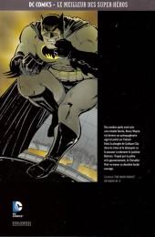 Verso de DC Comics - Le Meilleur des Super-Héros -5- Batman - The Dark Knight Returns