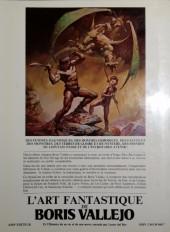 Verso de (AUT) Vallejo - L'art fantastique de Boris Vallejo