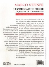 Verso de (AUT) Pratt, Hugo - Le corbeau de pierre, la jeunesse de Corto Maltese