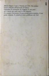 Verso de (AUT) Pratt, Hugo (en italien) - Un romanzo d'avventura