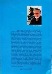 Verso de (AUT) Pratt, Hugo (en roumain) -ROU- Hugo Pratt, nomad în Corto