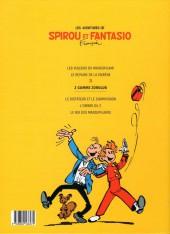 Verso de Spirou et Fantasio -15Ouest Fr.- Z comme Zorglub