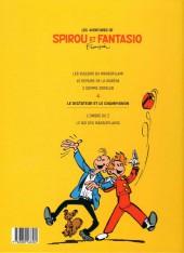 Verso de Spirou et Fantasio -7Ouest Fr.- Le dictateur et le champignon