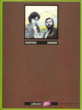 Verso de Métamorphoses (Schuiten/Renard) -1a1984- Aux médianes de Cymbiola