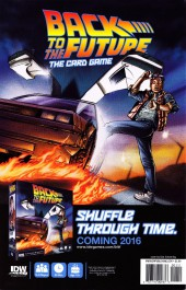 Verso de Back to the Future (2015) -1- Untold Tales and Alternate Timelines