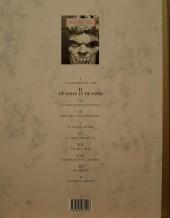 Verso de Murena (Le Soir) -2Livre II- De sable et de sang