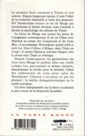 Verso de (AUT) Hergé -7a94- Le monde de tintin