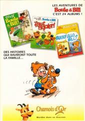 Verso de Boule et Bill -03- (Publicitaires) -23Chamois- 'faut rigoler !