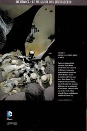 Verso de DC Comics - Le Meilleur des Super-Héros -7- Batman - La Cour des hiboux - 1re partie