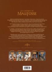 Verso de Les chemins de Malefosse -INT5- Intégrale - Chapitre V