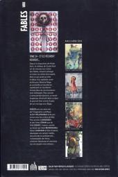 Verso de Fables (avec couverture souple) -24- Et ils vécurent heureux...