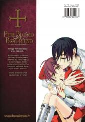 Verso de Pure Blood Boyfriend - He's my only vampire -9- Tome 9