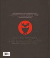 Verso de Okko -HS- Artbook, 10 ans de dessins