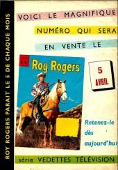 Verso de Roy Rogers, le roi des cow-boys (3e série - vedettes T.V) -21- Numéro 21