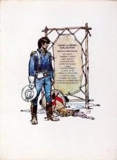 Verso de Blueberry -3a1972- l'aigle solitaire