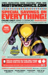 Verso de All-New Wolverine (2016) -1- Snikt!