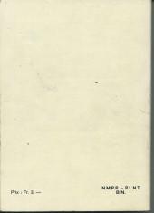 Verso de Nevada (LUG) -Rec38- Album N°38 (du n°283 au n°286)