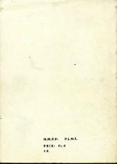 Verso de Nevada (LUG) -Rec45- Album N°45 (du n°311 au n°314)