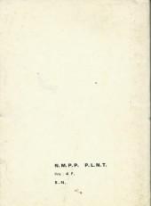 Verso de Nevada (LUG) -REC47- Album N°47 (du n°319 au n°322)