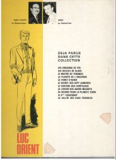 Verso de Luc Orient -5a76- La forêt d'acier