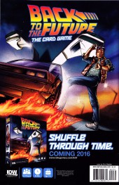 Verso de Back to the Future (2015) -2SubA- Untold Tales and Alternate Timelines #2