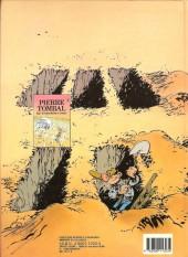 Verso de Pierre Tombal -1a1986- Les 44 premiers trous
