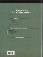 Verso de Complainte des Landes perdues -9TL- Tête noire